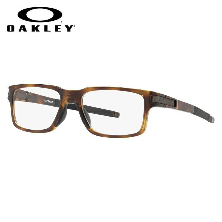 メガネ 度付き 度なし 伊達メガネ 眼鏡 オークリー ラッチEX 交換用ノーズパッド付 OAKLEY LATCH EX OX8115-0654 54サイズ スクエア型 メンズ レディース UVカット 紫外線 【国内正規品】