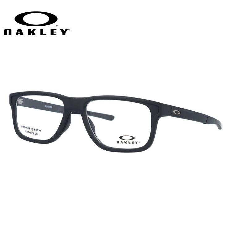 メガネ 度付き 度なし 伊達メガネ 眼鏡 オークリー サンダー 交換用ノーズパッド付 OAKLEY SUNDER OX8123-0153 53サイズ スクエア型 メンズ レディース UVカット 紫外線 【国内正規品】
