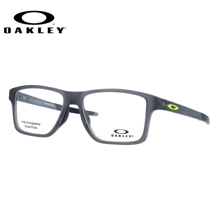メガネ 度付き 度なし 伊達メガネ 眼鏡 オークリー シャンファースクエア 交換用ノーズパッド付 OAKLEY CHAMFER SQUARED OX8143-0254 54サイズ スクエア型 メンズ レディース UVカット 紫外線 【国内正規品】