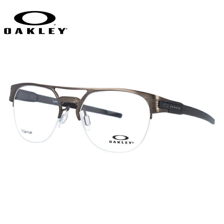 オークリー 伊達メガネ 眼鏡 ラッチ キー ティーアイ OAKLEY LATCH KEY TI OX5134-0252 52サイズ ブロー型 【国内正規品】