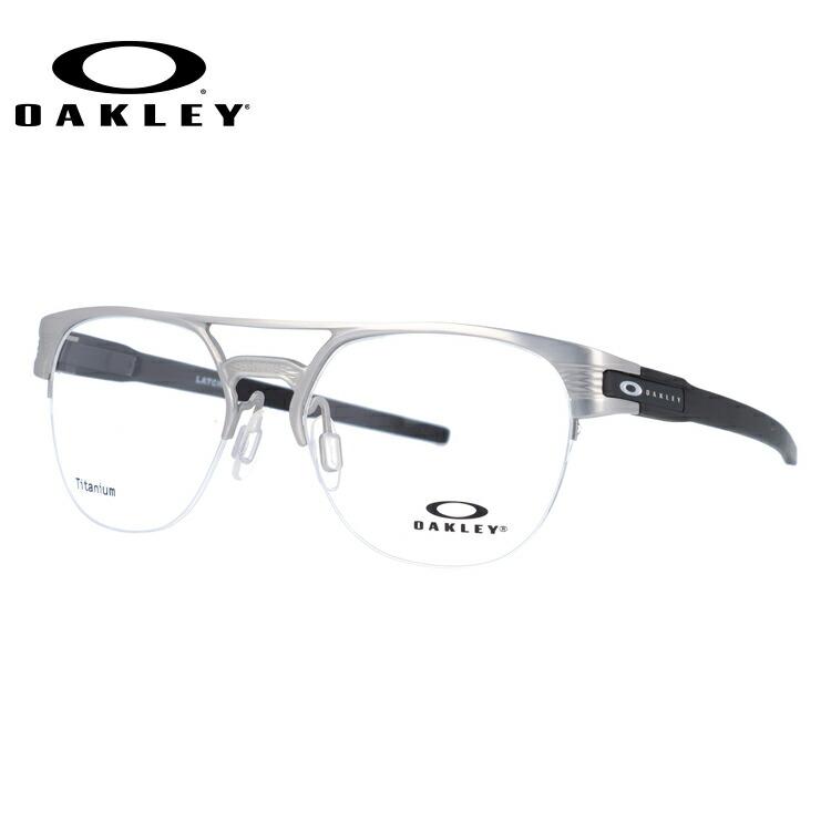 オークリー 伊達メガネ 眼鏡 ラッチ キー ティーアイ OAKLEY LATCH KEY TI OX5134-0352 52サイズ ブロー型 【国内正規品】