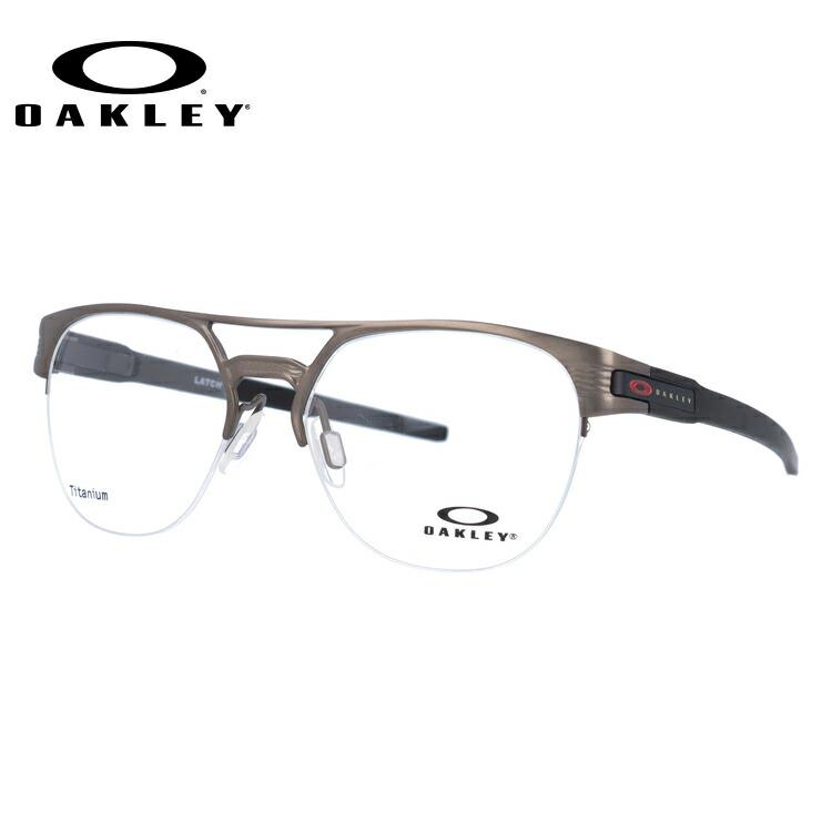 オークリー 伊達メガネ 眼鏡 ラッチ キー ティーアイ OAKLEY LATCH KEY TI OX5134-0454 54サイズ ブロー型 【国内正規品】