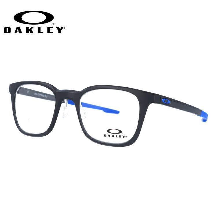 オークリー 伊達メガネ 眼鏡 2018新作 マイルストーン3.0 レギュラーフィット OAKLEY MILESTONE 3.0 OX8093-0749 49サイズ 国内正規品 ウェリントン
