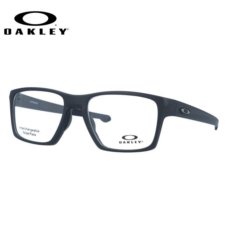 メガネ 度付き 度なし 伊達メガネ 眼鏡 オークリー ライトビーム 交換用ノーズパッド付 OAKLEY LIGHTBEAM OX8140-0155 55サイズ スクエア型 UVカット 紫外線【海外正規品】