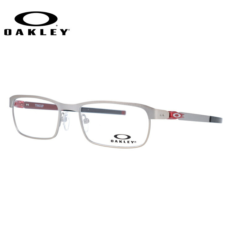 メガネ 度付き 度なし 伊達メガネ 眼鏡 オークリー ティンカップ レギュラーフィット OAKLEY TINCUP OX3184-0750 50サイズ スクエア型 メンズ レディース UVカット 紫外線 【国内正規品】