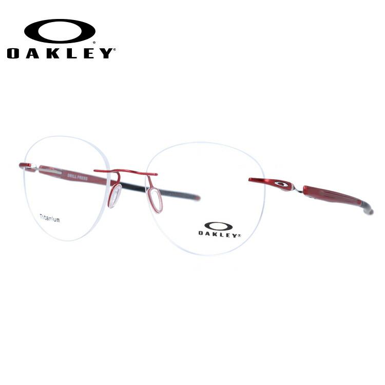 オークリー 伊達メガネ 眼鏡 2018新作 ドリルプレス レギュラーフィット OAKLEY DRILL PRESS OX5143-0451 51サイズ 国内正規品 ボストン メンズ レディース