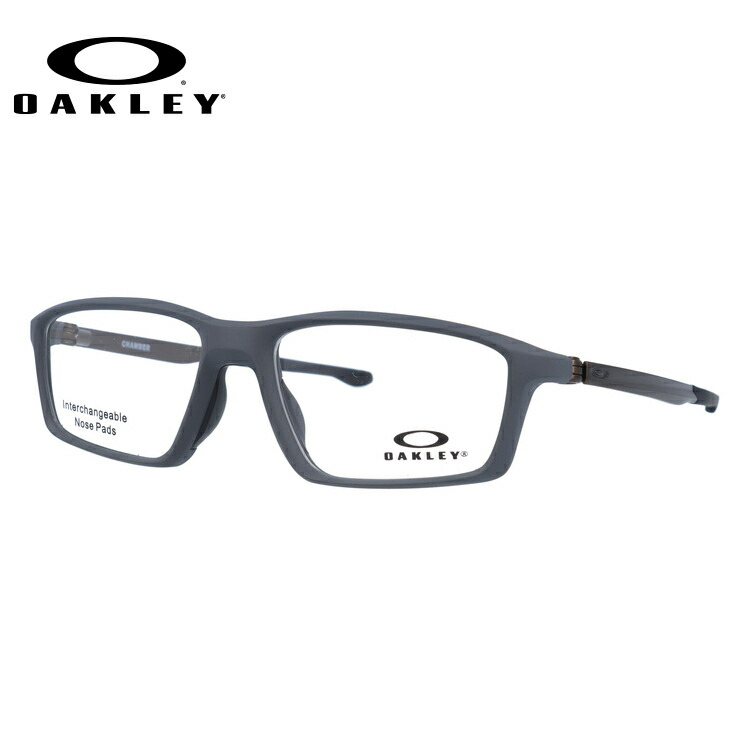 オークリー 伊達メガネ 眼鏡 2018新作 チェンバー TrueBridgeTechnology(トゥルーブリッジテクノロジー) OAKLEY CHAMBER OX8138-0253 53サイズ 国内正規品 スクエア メンズ レディース