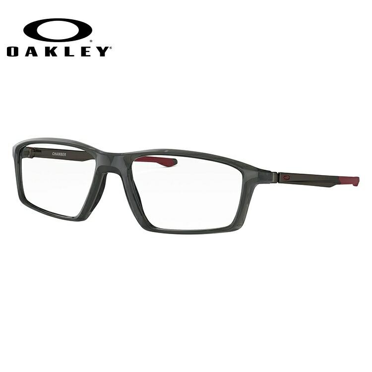 オークリー 伊達メガネ 眼鏡 2018新作 チェンバー TrueBridgeTechnology(トゥルーブリッジテクノロジー) OAKLEY CHAMBER OX8138-0355 55サイズ 国内正規品 スクエア メンズ レディース