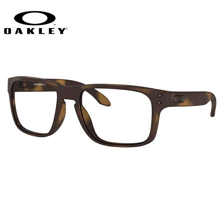 オークリー 伊達メガネ 眼鏡 ホルブルック レギュラーフィット OAKLEY HOLBROOK OX8156-0254 54サイズ 国内正規品 スクエア メンズ レディース