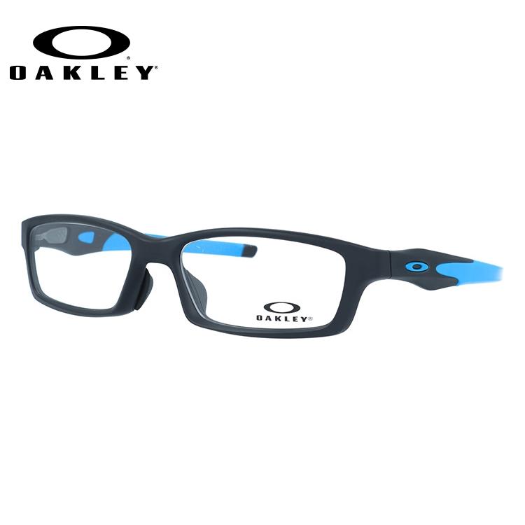 オークリー 伊達メガネ 眼鏡 クロスリンク アジアンフィット OAKLEY CROSSLINK OX8118-0156 56サイズ 国内正規品 スクエア メンズ レディース