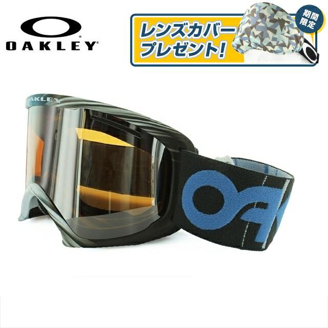 オークリー ゴーグル O2 XL(O Frame 2.0 XL) アジアンフィット 59-493J Session 1242 Collection ブルー系 ミラーレンズ 快晴 曇り止め ダブルレンズ 眼鏡対応 ブラックイリジウム スノーゴーグル ジャパンフィット OAKLEY