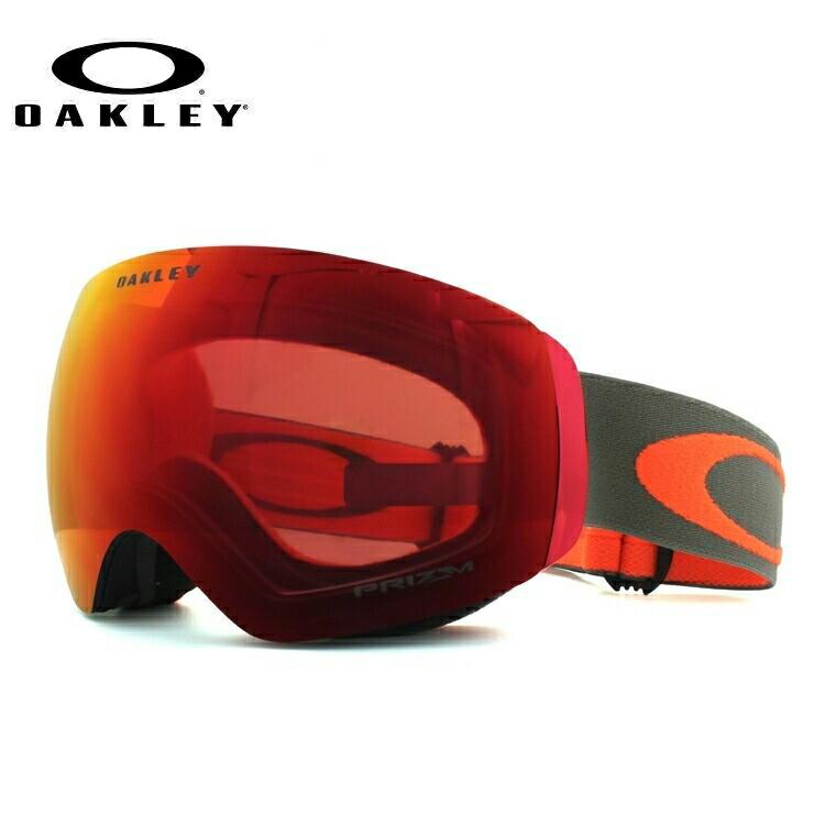 オークリー ゴーグル フライトデッキXM プリズム ミラーレンズ アジアンフィット OAKLEY FLIGHT DECK XM OO7079-25 メンズ レディース スキー スノーボード