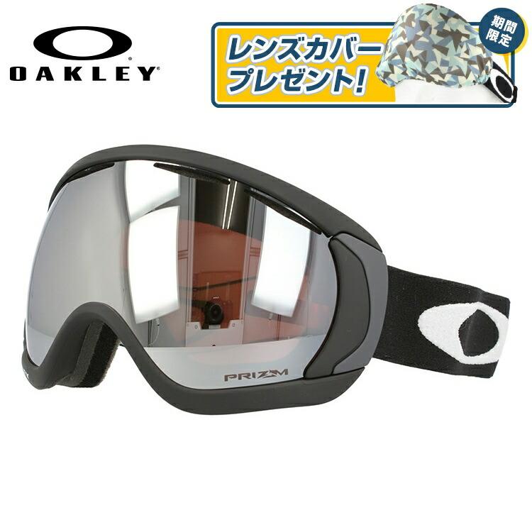 オークリー ゴーグル キャノピー プリズム ミラーレンズ レギュラーフィット OAKLEY CANOPY OO7047-01 ユニセックス メンズ レディース スキーゴーグル スノーボードゴーグル スノボ