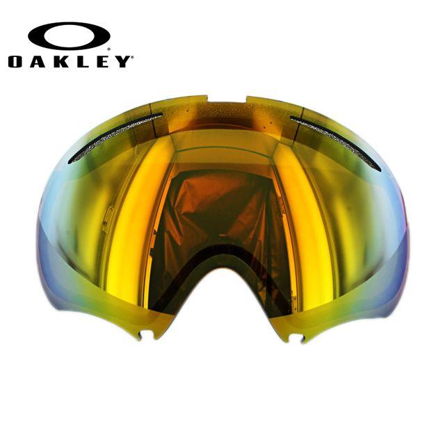 ゴーグル オークリー 交換レンズ スペアレンズ Aフレーム2.0 OAKLEY A FRAME 2.0 59-686 Fire Iridium Replacement Lens リプレイスメント レンズ 交換用 スキー スノーボード ウィンタースポーツ スノーゴーグル UVカット