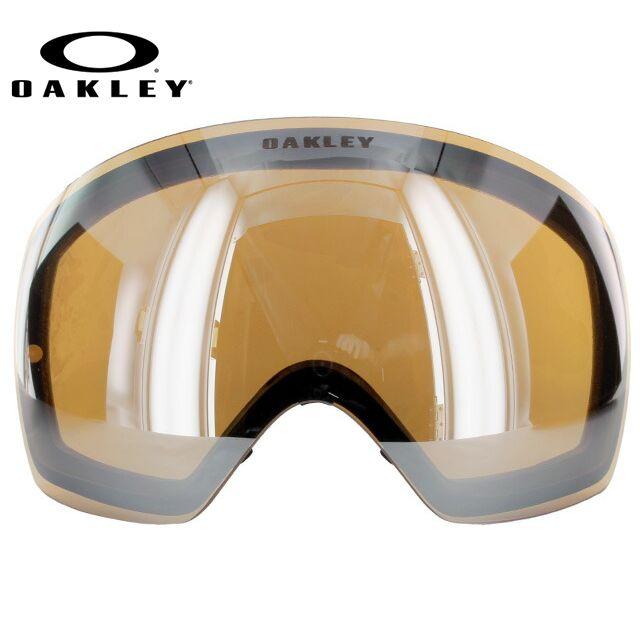 オークリー 交換レンズ スペアレンズ ゴーグル フライトデッキ FLIGHT DECK 59-783 ブラックイリジウム Replacement Lens リプレイスメント レンズ 交換用 スキー スノーボード ウィンタースポーツ OAKLEY スノーゴーグル