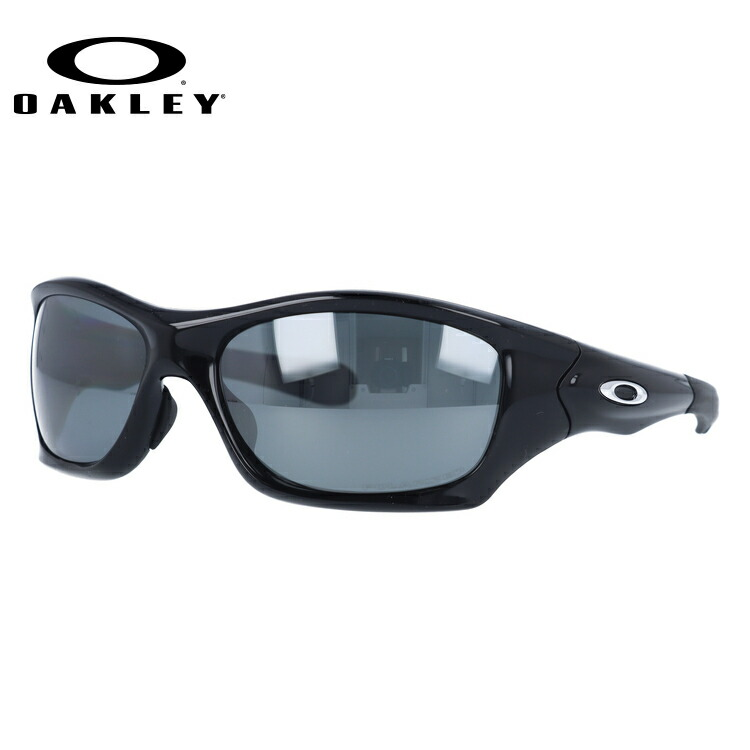 4570f8071d7 Oakley sunglasses OAKLEY PIT BULL oo9161-06 pit bull Polished Black Black  Iridium Polarized ...