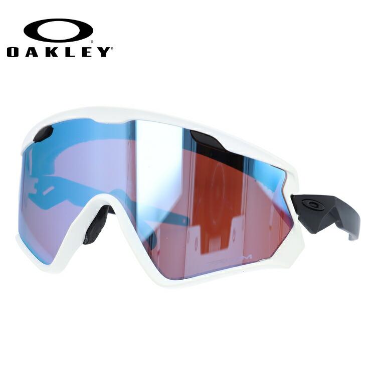 国内正規 保証書付 オークリー スノーサングラス スキー・スノーボード向け ウィンドジャケット 2.0 プリズムスノー ミラーレンズ レギュラーフィット OAKLEY WIND JACKET 2.0 OO9418-0345 145サイズ スポーツ UVカット