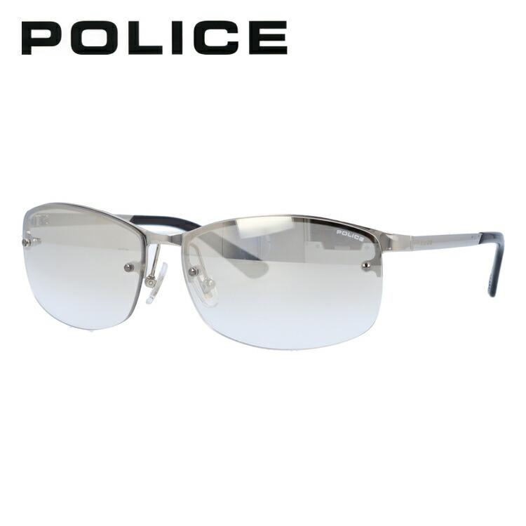 ポリス サングラス ミラーレンズ POLICE SPL917J 583X 61サイズ スクエア ユニセックス メンズ レディース 【国内正規品】