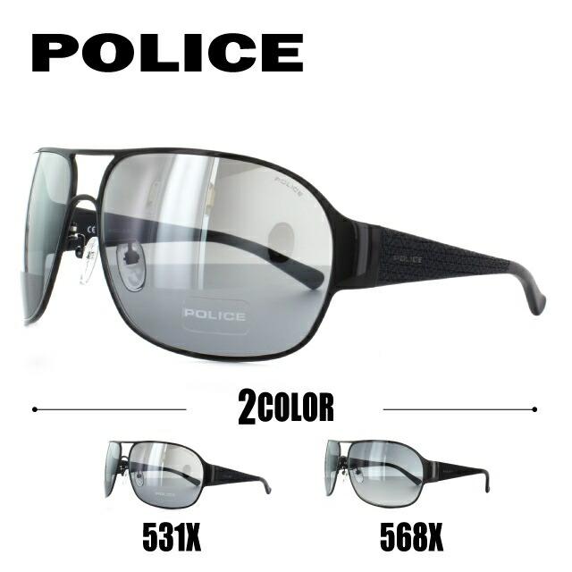 ポリス サングラス 国内正規品 POLICE S8992K 531X/568X 95 アジアンフィット【メンズ】 UVカット