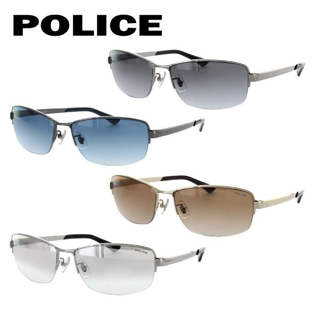 04AO/700/07NS/09FB/09FC/09GS/700B/700F/700N/700X/722 11カラー 国内正規品 アジアンフィット ウェリントン ポリス 【POLICE】 度付き対応 53サイズ S1816J 新品 サングラス メンズ UVカット