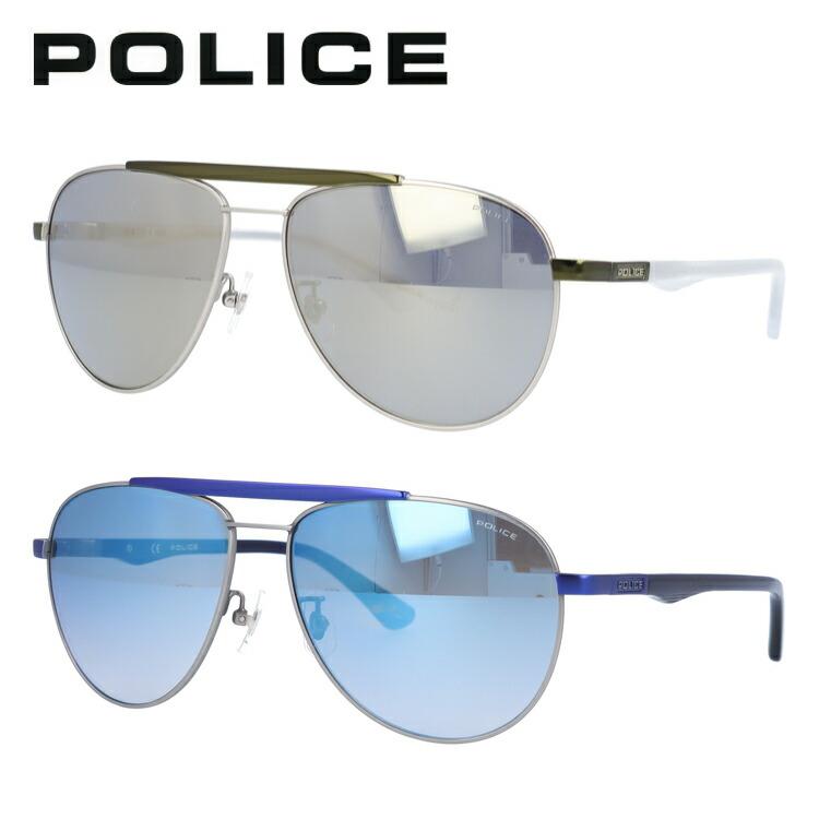 ポリス POLICE サングラス 国内正規品 SPL364I 全2カラー 59サイズ 調整可能ノーズパッド BROOKLYN1【メンズ】 UVカット