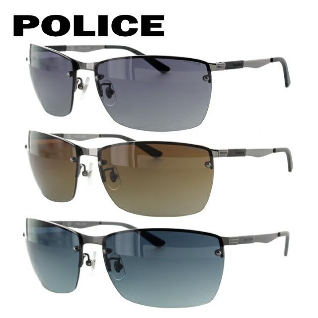 ポリス POLICE サングラス 国内正規品 SPL540I 全3カラー 63サイズ 調整可能ノーズパッド COURT4【メンズ】 UVカット