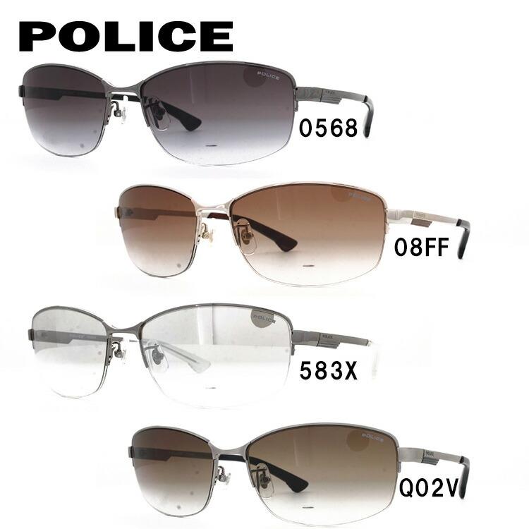 ポリス サングラス 国内正規品 ストーム アジアンフィット POLICE STORM SPL744J 全4カラー 58サイズ スクエア【メンズ】 UVカット