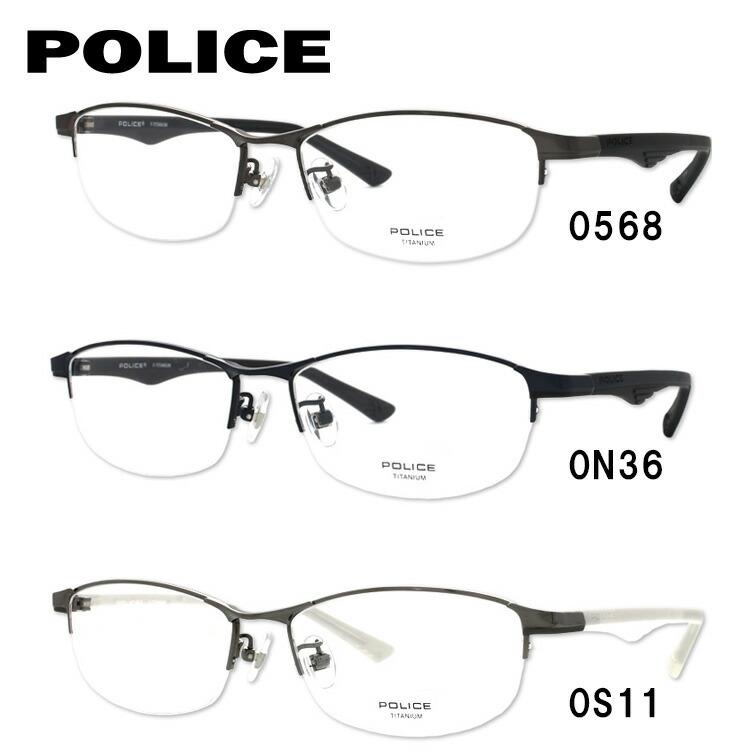 ポリス 眼鏡 ブラックバード 伊達メガネ POLICE BLACKBIRD VPL753J 全3カラー 54サイズ スクエア 【国内正規品】