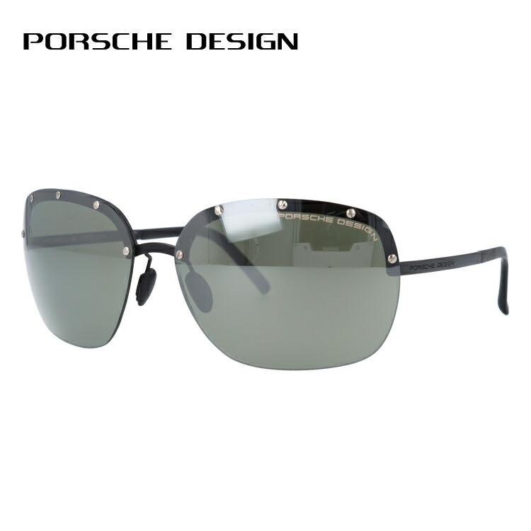 ポルシェデザイン サングラス ミラーレンズ PORSCHE DESIGN P8576-C 65サイズ 国内正規品 オーバル メンズ レディース UVカット