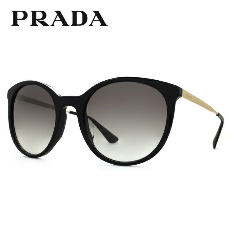 プラダ サングラス アジアンフィット PRADA PR17SSF 1AB0A7 55サイズ 国内正規品 ボストン メンズ レディース UVカット