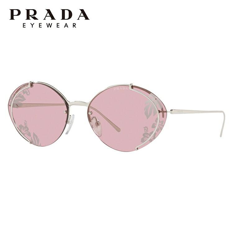 プラダ サングラス PRADA PR60US 1BC239 63サイズ 国内正規品 オーバル UVカット