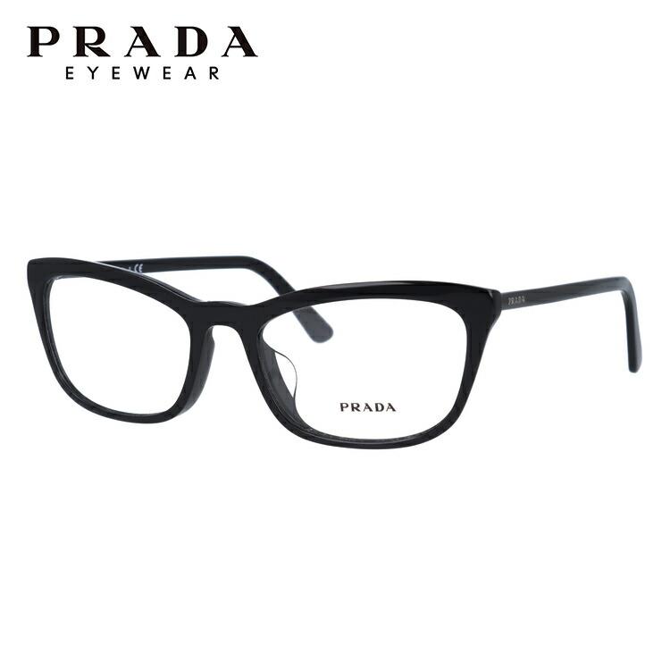 プラダ 伊達メガネ 眼鏡 アジアンフィット PRADA PR10VVF 1AB1O1 54サイズ 国内正規品 スクエア メンズ レディース