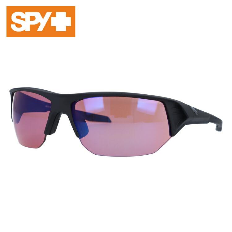 スパイ サングラス 国内正規品 SPY ALPHA アルファ Matte Black/Rose Contact Blue Mirror メンズ レディース UVカット