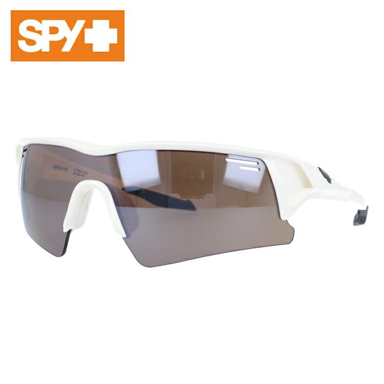 スパイ サングラス 国内正規品 SPY SCREW OVER スクリューオーバー Shiny White/Bronze With Black Mirror メンズ レディース UVカット