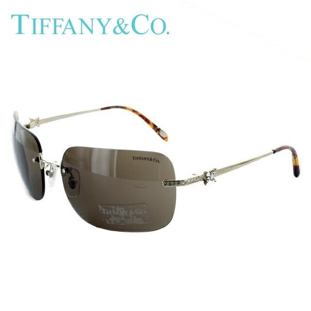 ティファニー サングラス 国内正規品 Tiffany TF3038B 60213G 61 ゴールド/ブラウン【レディース】 UVカット