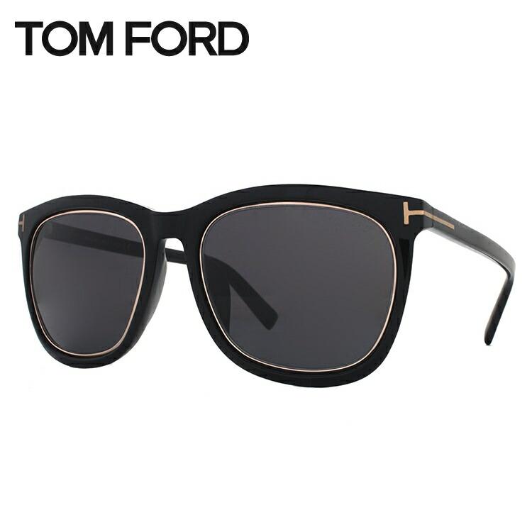 トムフォード サングラス アジアンフィット TOM FORD TF0415D(FT0415D) 01A 57サイズ ウェリントン メンズ レディース UVカット