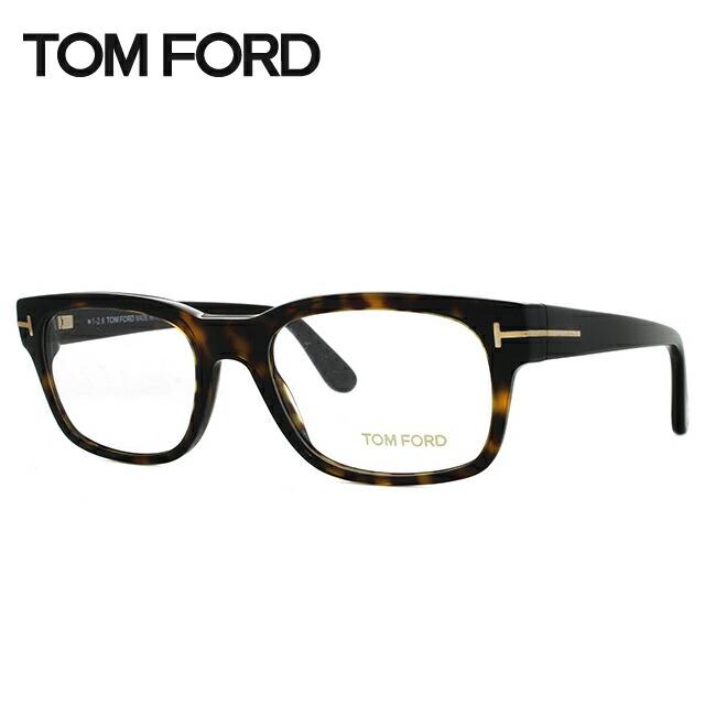 トムフォード 伊達メガネ 眼鏡 レギュラーフィット TOM FORD TF5432 052 52サイズ(FT5432) スクエア メンズ レディース 【スクエア型】
