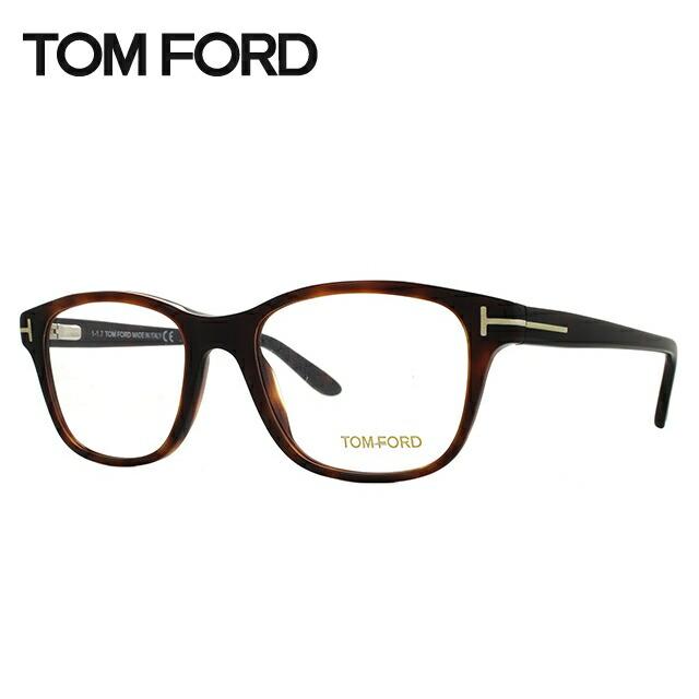 【訳あり】 トムフォード 伊達メガネ 眼鏡 レギュラーフィット TOM FORD TF5196 052 53サイズ (FT5196) ウェリントン メンズ レディース