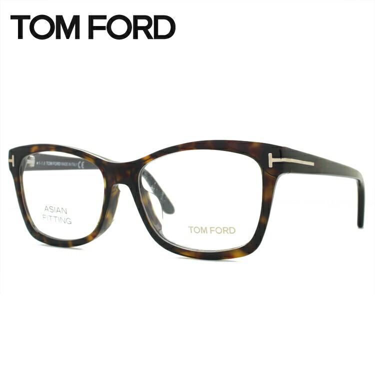 メガネ 度付き 度なし 伊達メガネ 眼鏡 トムフォード アジアンフィット TOM FORD TF5424F (FT5424F) 052 53サイズ スクエア型 UVカット 紫外線