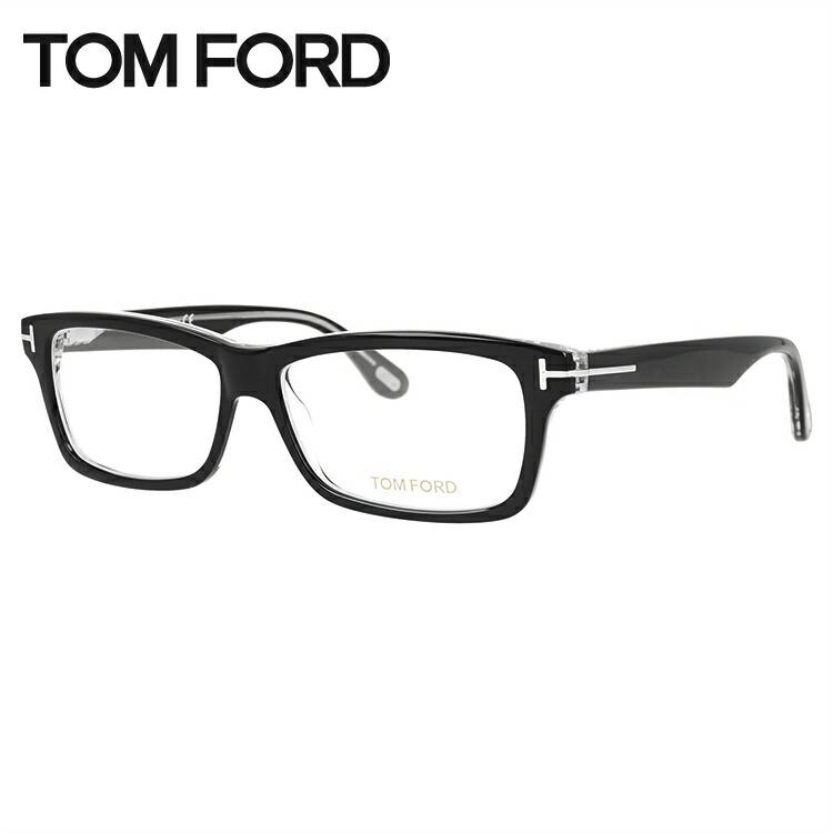 メガネ 度付き 度なし 伊達メガネ カラーレンズ 眼鏡 トムフォード レギュラーフィット TOM FORD TF5146 (FT5146) 003 54/56サイズ スクエア メンズ レディース レンズセット UVカット 紫外線 サングラス