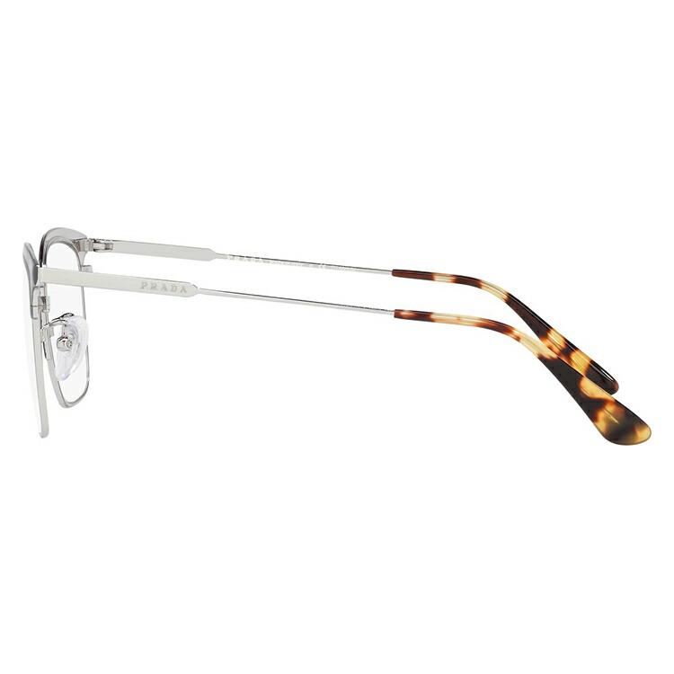 プラダ 伊達メガネ 眼鏡 2019新作 アジアンフィット PRADA PR61VVD 3291O1 53サイズ 国内正規品 ブロー メンズ レディース