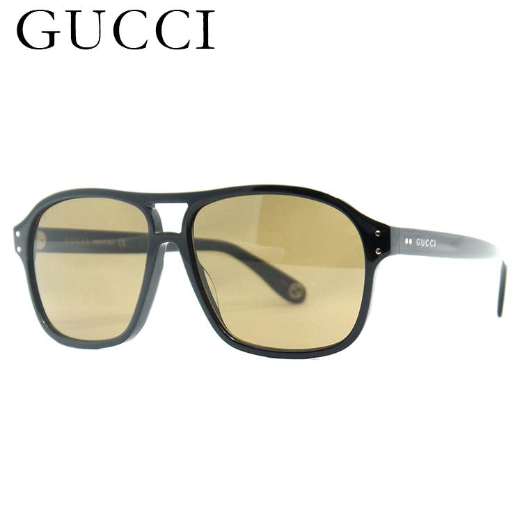 GUCCI(グッチ) サングラス GG0475S-001 58サイズ レディース メンズ