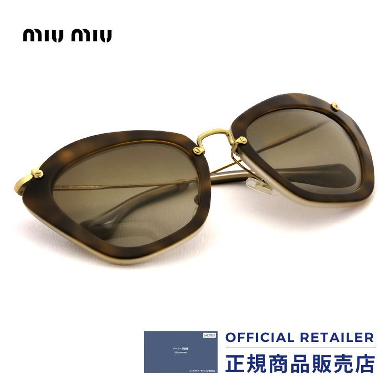 ミュウミュウ サングラス MU10NS HAH1X1 55サイズMIUMIU MU10NS HAH1X1 55サイズ サングラス レディース メンズ