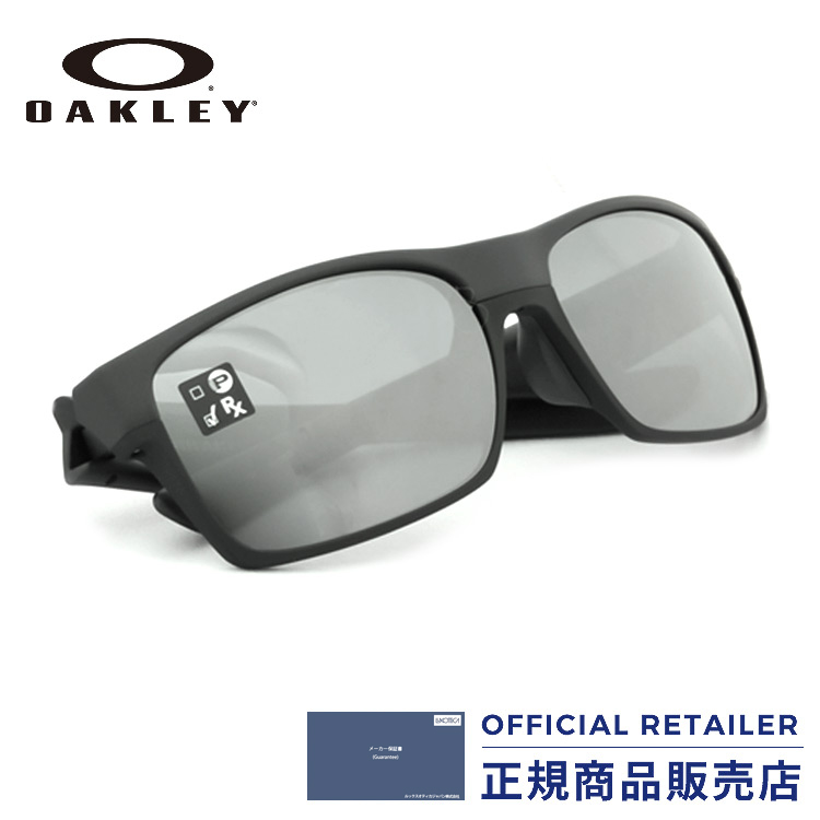 ff5c18badce Oakley sunglasses sports sunglasses OAKLEY OO9256-04 (A) Asia fitting  TWOFACE steal  Black Iridium Lady s men