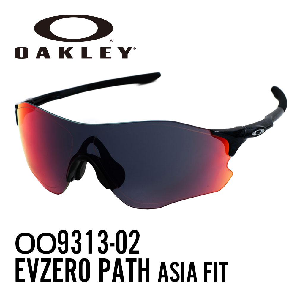 【ランキング1位】オークリー サングラス スポーツサングラスOAKLEY OO9313-02 (A) アジアフィット EVZERO PATHPlanet X/+Red Iridium レディース メンズ