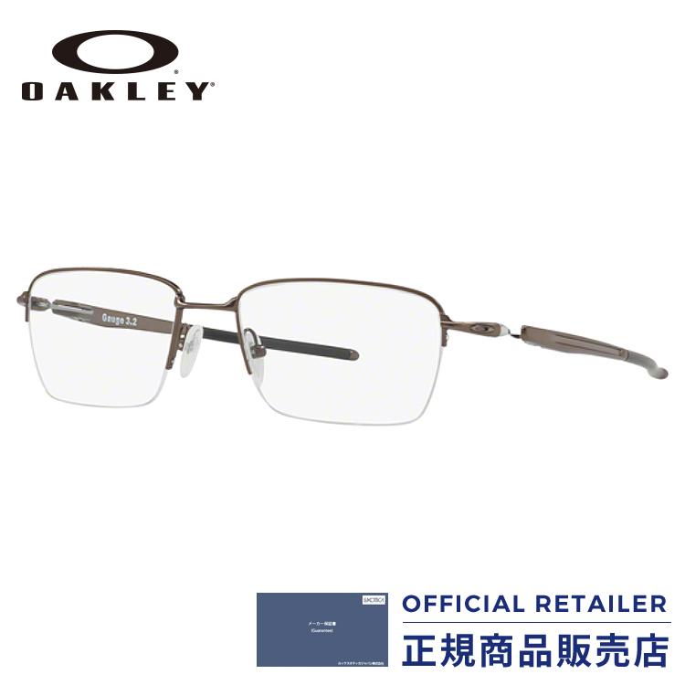 店内最大30倍ポイント&最大15%OFFクーポン発行中!オークリー メガネ フレーム ゲージ3.2 ブレイドOX5128 02 52サイズ 54サイズOAKLEY GAUGE 3.2 BLADE OX5128-02 52サイズ 54サイズ眼鏡 伊達メガネ めがね レディース メンズ【max30】