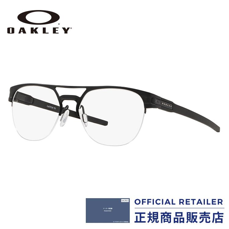 店内最大30倍ポイント&最大15%OFFクーポン発行中!オークリー メガネ フレーム ラッチキーTI2018NEW新作 OX5134 01 52サイズ 54サイズ LATCH KEY TIOAKLEY OX5134-01 52サイズ 54サイズ 眼鏡 伊達メガネ めがね レディース メンズ【max30】