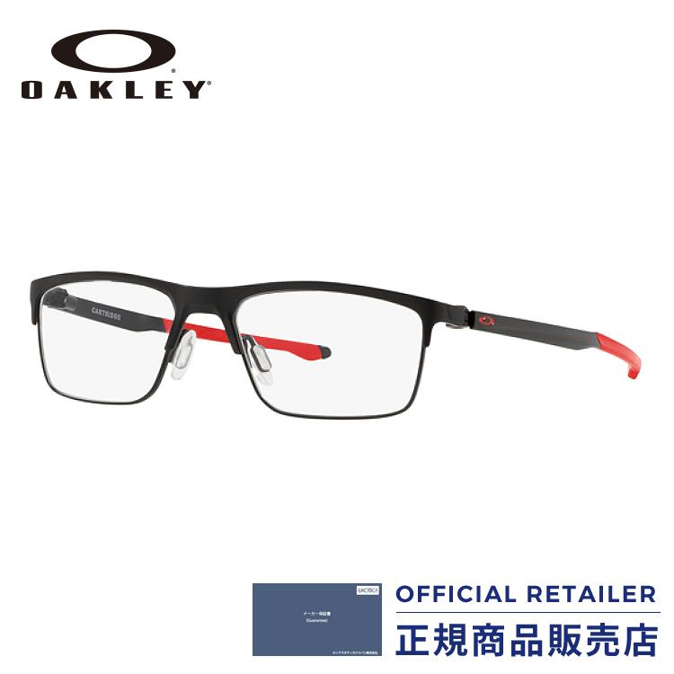 ポイント20倍以上!|オークリー メガネ フレーム カートリッジ2018NEW新作 OX5137 04 52サイズOAKLEY OX5137-04 52サイズ 眼鏡 伊達メガネ めがね レディース メンズ