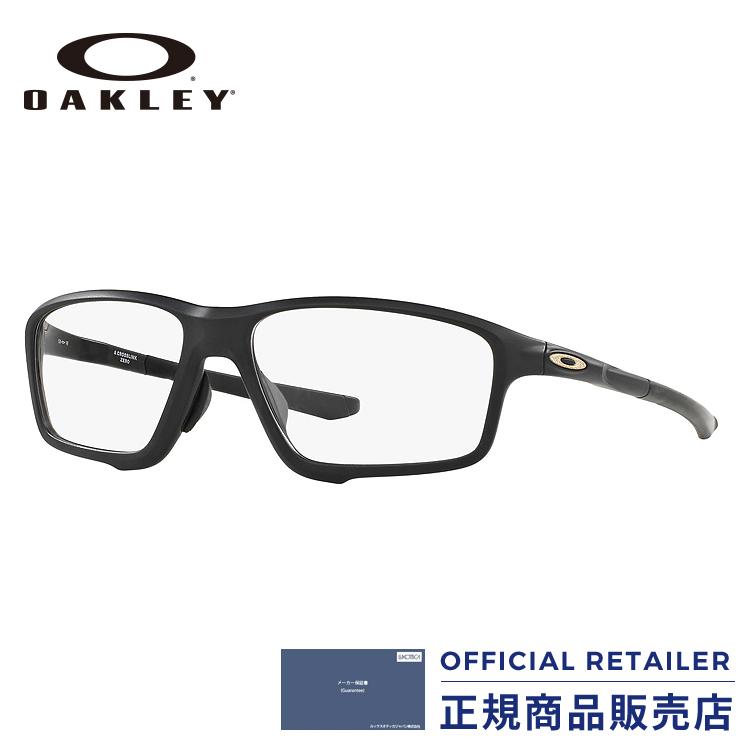 【アウトレット】期間限定ポイント最大20倍!オークリー メガネ フレーム クロスリンクゼロOX8080 07 58サイズOAKLEY OX8080-07 58サイズ CROSSLINK ZERO 眼鏡 伊達メガネ めがね レディース メンズ【PT20】 メガネフレーム