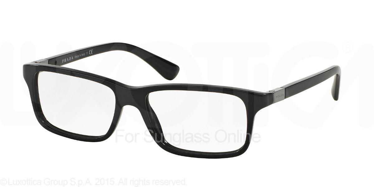 プラダ メガネ フレーム PRADA PR06SVF 1AB1O1 眼鏡 伊達メガネ レディース メンズ